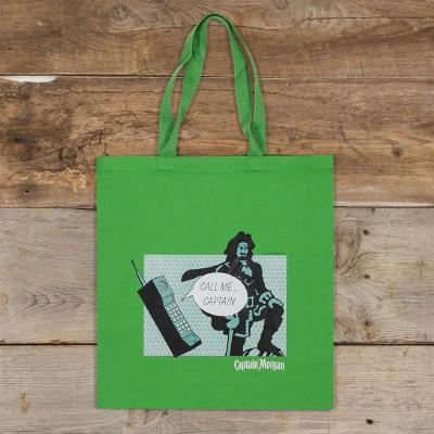 Call Me Captain Green Tote Bag